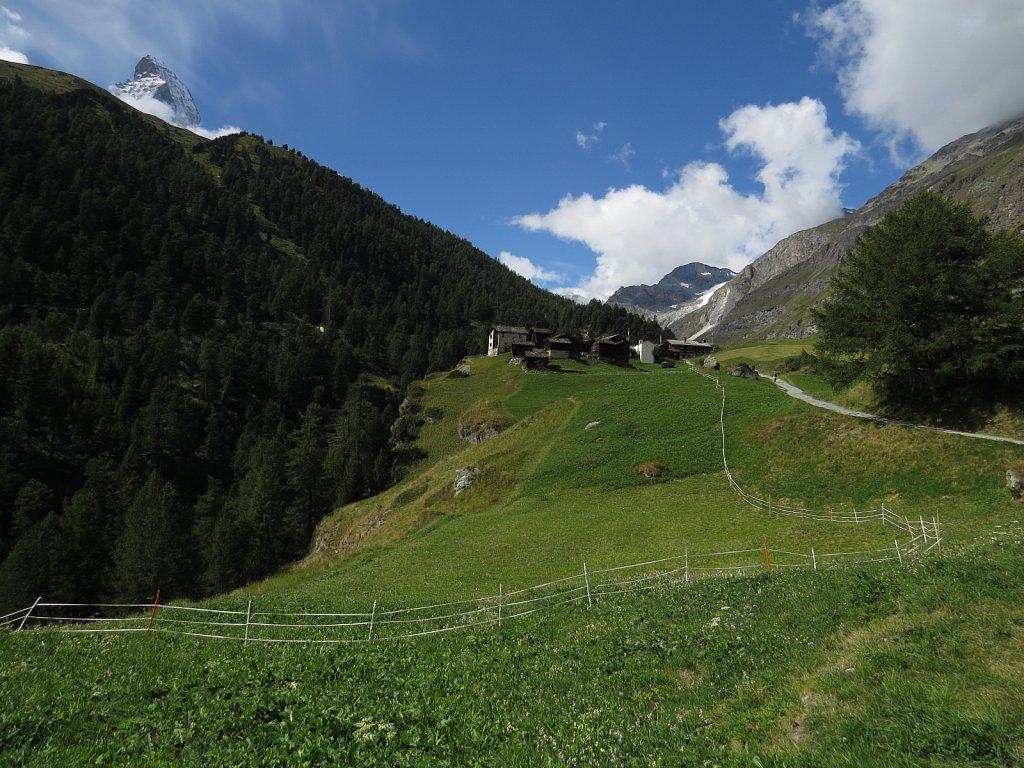 U - Zmutt from direction of Zermatt