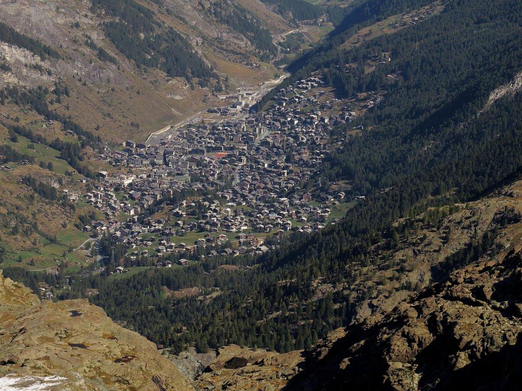 Q - Zermatt from Trockener Steg