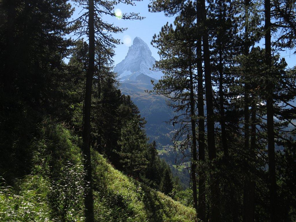 J - Below Riffelalp on the way to Zermatt