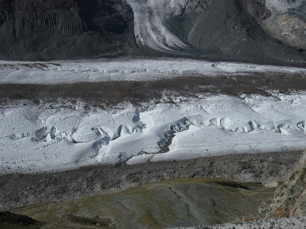 C - The melting Gornergletscher glacier